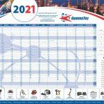 20223 gammatec a1 yearplanner