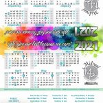MPH TENT CALENDARS 2021